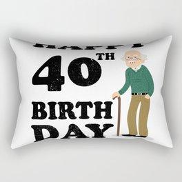 FUNNY OLD | 1978 Birthday Shirt Rectangular Pillow