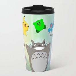 Video game Anime Character Rainbow Travel Mug