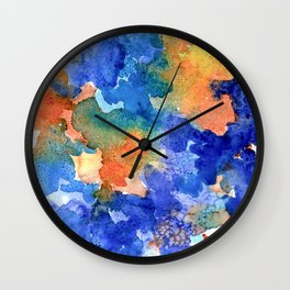 Watercolor 1 Wall Clock