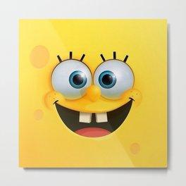 Sponge Bob Love Metal Print