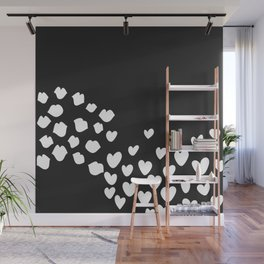 KisseS and HeartS Wall Mural