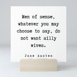 82   | Jane Austen Quotes | 190722 Mini Art Print