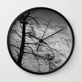 Mystical View Over Minerva Spring Wall Clock