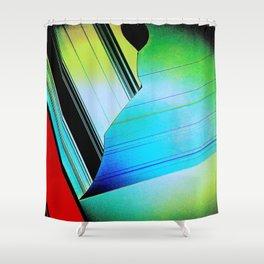 Screen Tear Shower Curtain