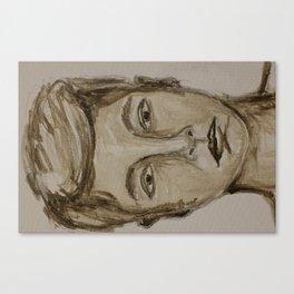 Portrait of a Guy Canvas Print