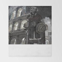 Neapolitan Mastiff Gladiator Throw Blanket
