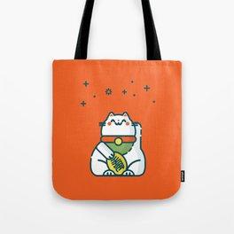 Maneki-Neko Lucky Cat Tote Bag