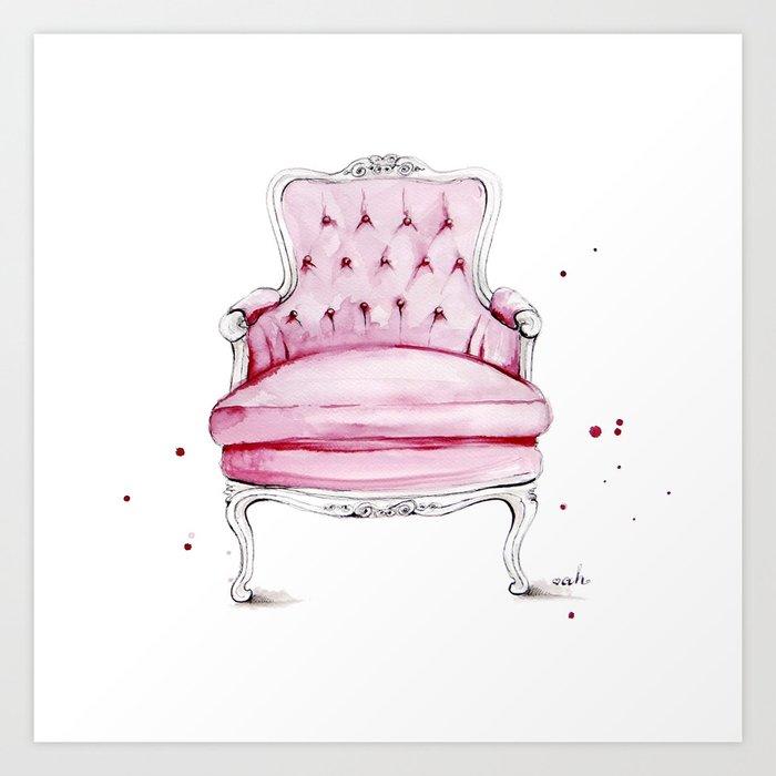 Have A Seat Art Print