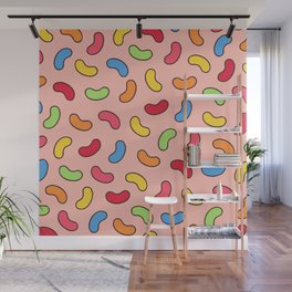 Jelly Beans Pattern Wall Mural