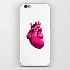 Heart - Pink iPhone & iPod Skin