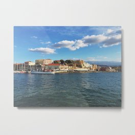 Crete, Greece Metal Print