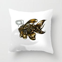 Thoughtless Goldfish Throw Pillow