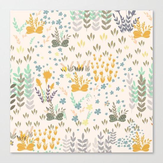 Amy Garden Canvas Print