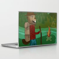oregon Laptop & iPad Skins featuring Oregon by Santiago Uceda
