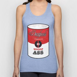 Deadpool's Can of Whoop-Ass! Unisex Tank Top