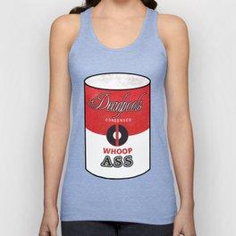 Deadpool's Can of Whoop-Ass! Unisex Tank Top