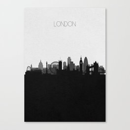 City Skylines: London Canvas Print