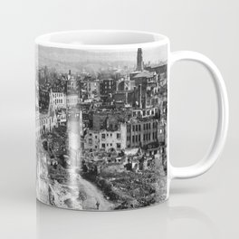 Heilbronn after the end of the Second World War Coffee Mug