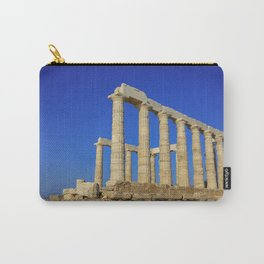 Temple of Poseidon in Sounion near Athens (Greece) Carry-All Pouch