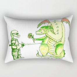 Good v.s. Evil? Rectangular Pillow