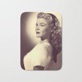 Helen Talbot, Vintage Actress Bath Mat