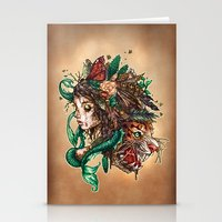 beast Stationery Cards featuring BEAST by Tim Shumate