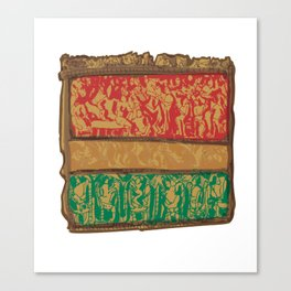 Indian Square Canvas Print