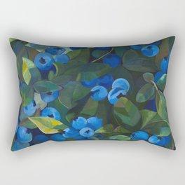 A Blueberry View Rectangular Pillow