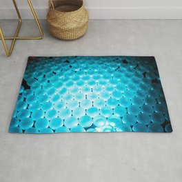 Blue Balls - Photography Art Rug