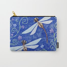 Pretty Dragonflies Carry-All Pouch
