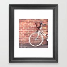 Beautiful Bike Framed Art Print