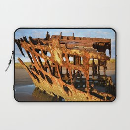 The Wreck of the Peter Iredale Laptop Sleeve