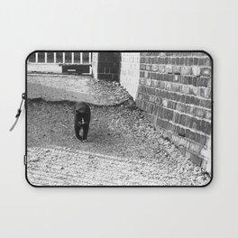 Railway Cat Greeting Laptop Sleeve