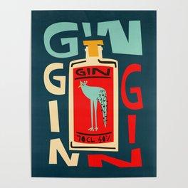 Gin Gin Gin Poster