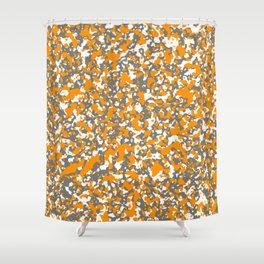 Digicam 16 - Orange Crushed Shower Curtain