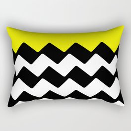 Zig Zag Rectangular Pillow