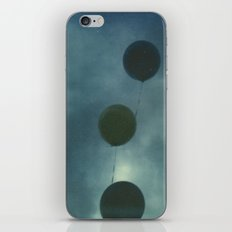 Dark Balloons iPhone & iPod Skin
