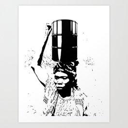 The Black Woman's Burden Art Print
