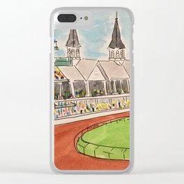 Derby Days Clear iPhone Case