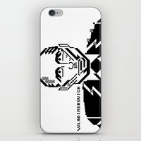 putin iPhone & iPod Skins featuring Vladimirovich by Galza Ascii Art