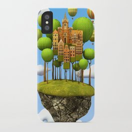 New City in the Sky iPhone Case