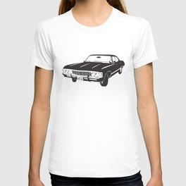 Supernatural Chevrolet Impala 67' T-shirt
