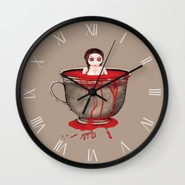 Cup of Blood Wall Clock