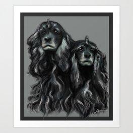 Sammy and Cloe Art Print