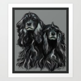 Sammy and Cloe Art Print