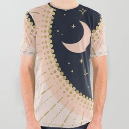 Love in Space All Over Graphic Tee