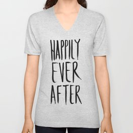 Happily Ever After  Unisex V-Neck