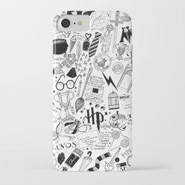 Hogwarts, Hogwarts, Hoggy Warty Hogwarts iPhone Case