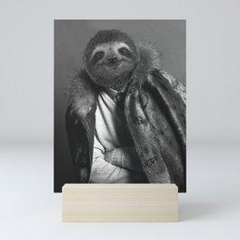 Model Sloth Mini Art Print
