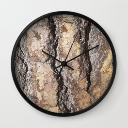 The Layers and Pieces of Our Souls Wall Clock